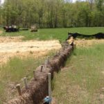 Straw Bale Barriers
